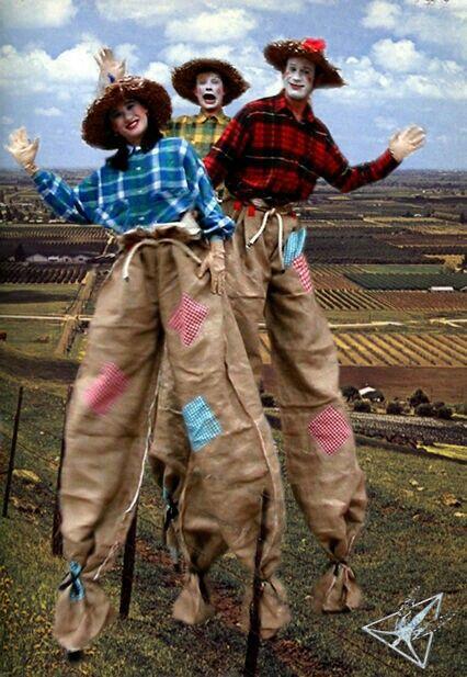 Pin by Stephany Gallegos on stilts costuming Pinterest Stilt costume - scarecrow halloween costume ideas