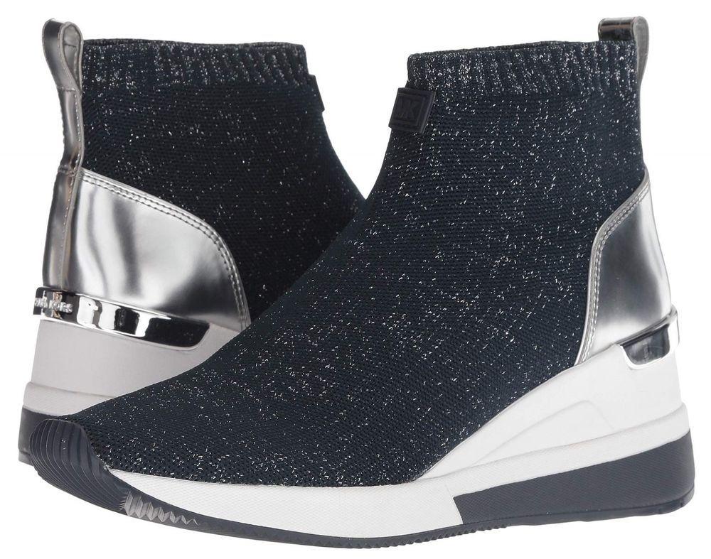57c41b9785e MICHAEL Michael Kors Skyler Wedge Booties Women s Ankle Boots Winter Pull  On  MichaelKors  Booties  CasualDressOutdoorPartyWork