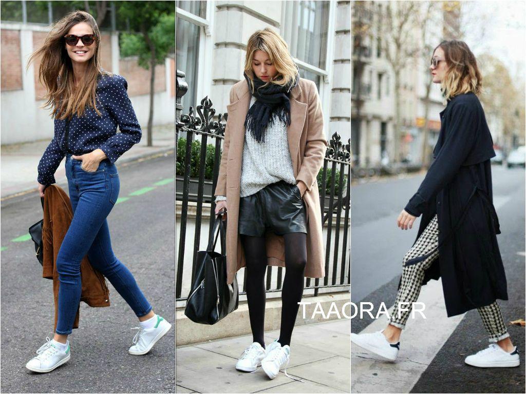 Looks Blogueuse Mode Avec Baskets Stan Smith