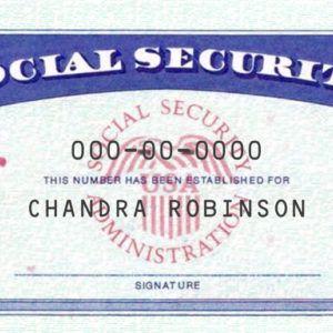 Social Security Card Template Psd Only 25 Social Security Card Card Template Templates
