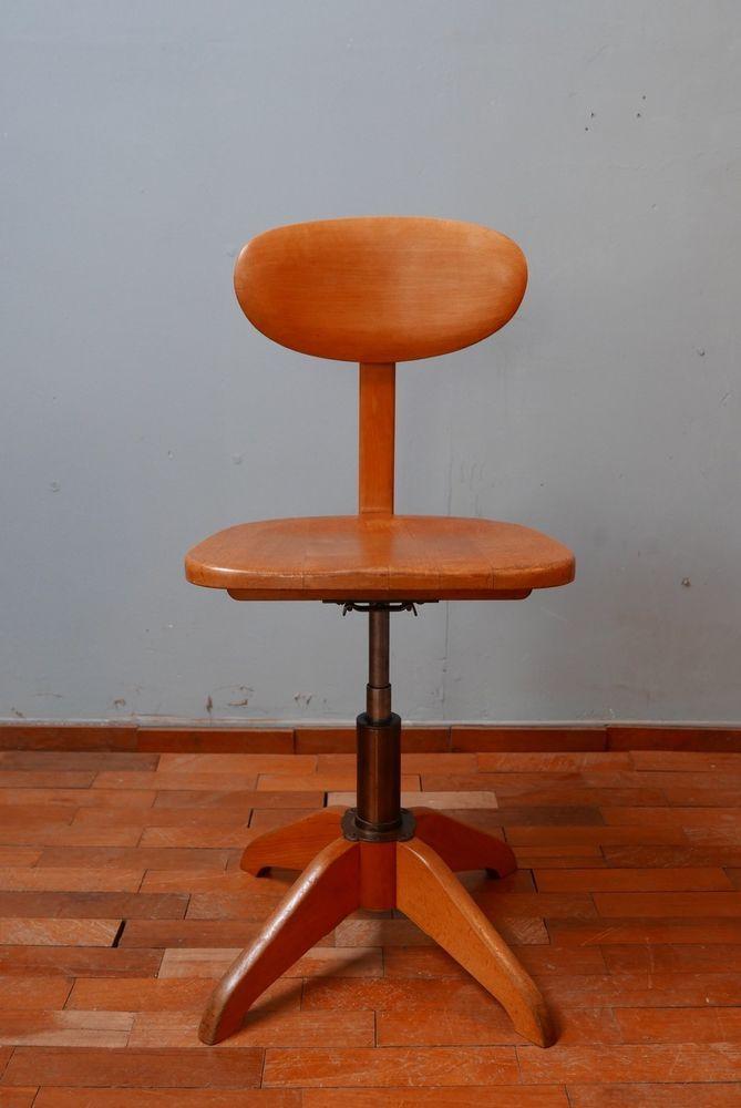 Original Stoll Office Chair Industrial Vintage