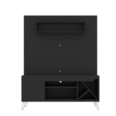 """Ivy Bronx Neppie Floating Entertainment Center for TVs up to 55""""   Wayfair"""