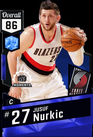 f73ffa72af3 Jusuf Nurkic against the 76ers on March 9th (W)   37 min