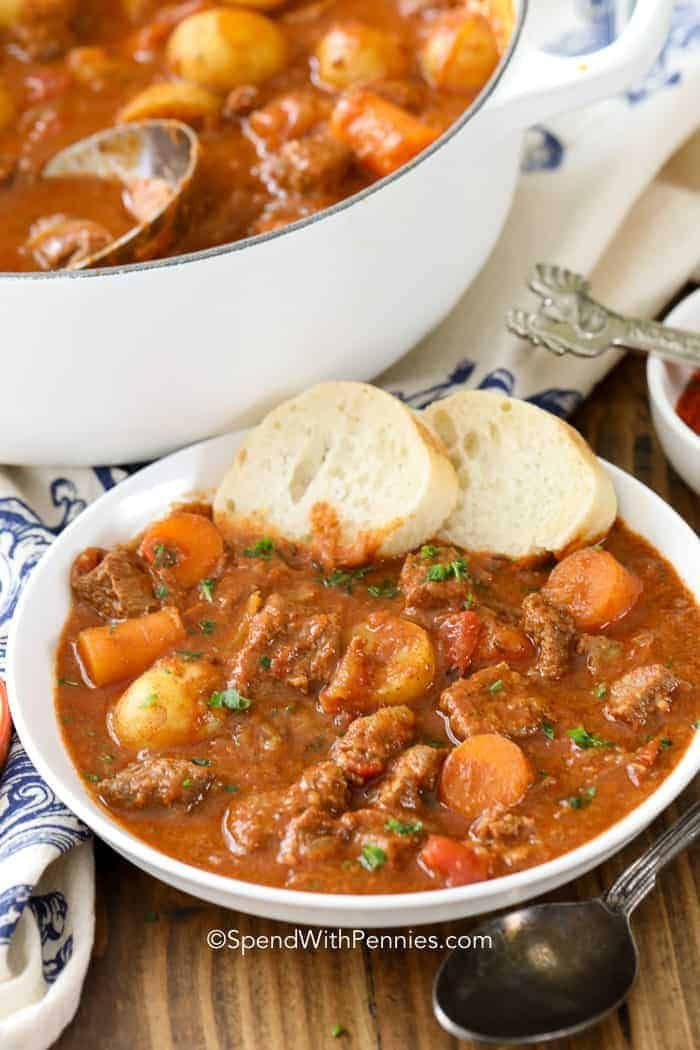 Hungarian Goulash - Spend With Pennies This Hungar