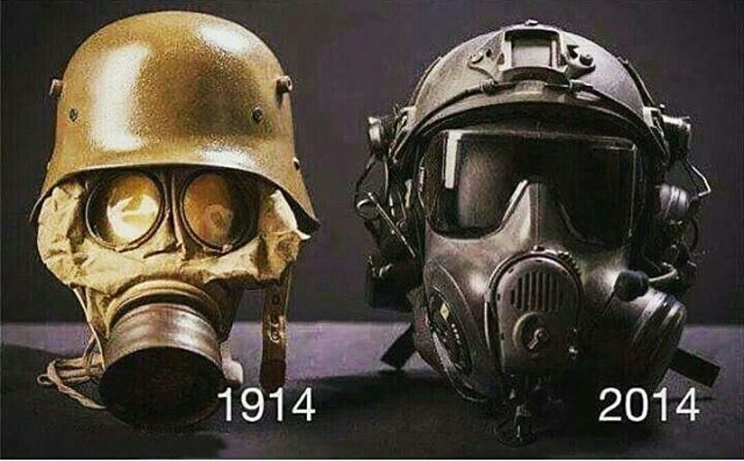 Gas Mask Evolution From 1914 To 2017 Law Enforcement Commandos
