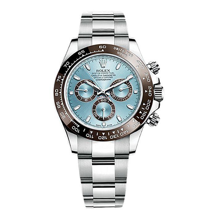 Rolex Cosmograph Daytona 116506 Platinum Watch (Ice Blue) Image 1