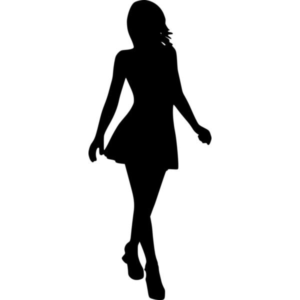 Silhouette7 Png Liked On Polyvore Featuring Fillers Silhouette Sketches People And Backgrounds Silhouette Art Curvy Art Silhouette