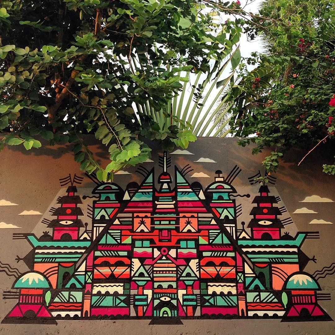 Zimmerwand graffiti terima kasih   bali grems indonesia anywaystudio ttcrew
