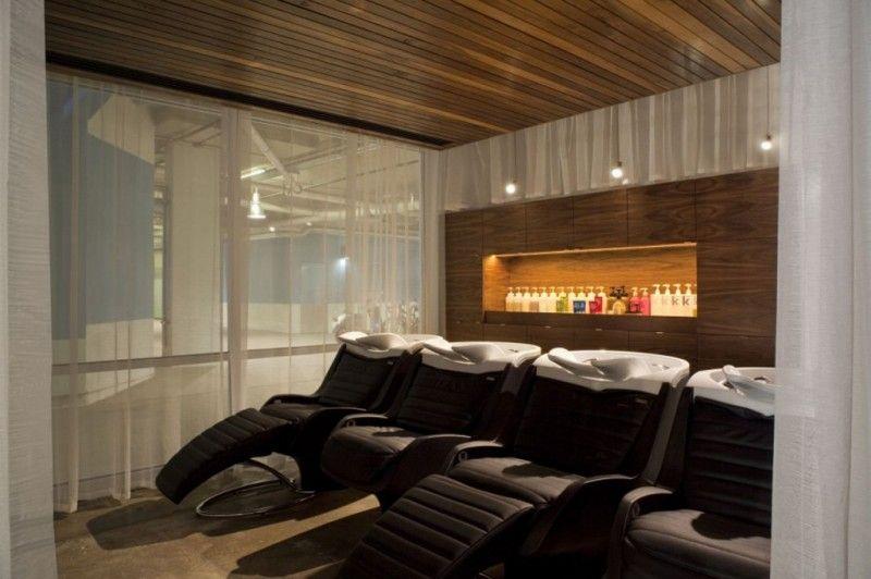 Salon de coiffure moderne idées de décoration | BANQUE | Pinterest ...