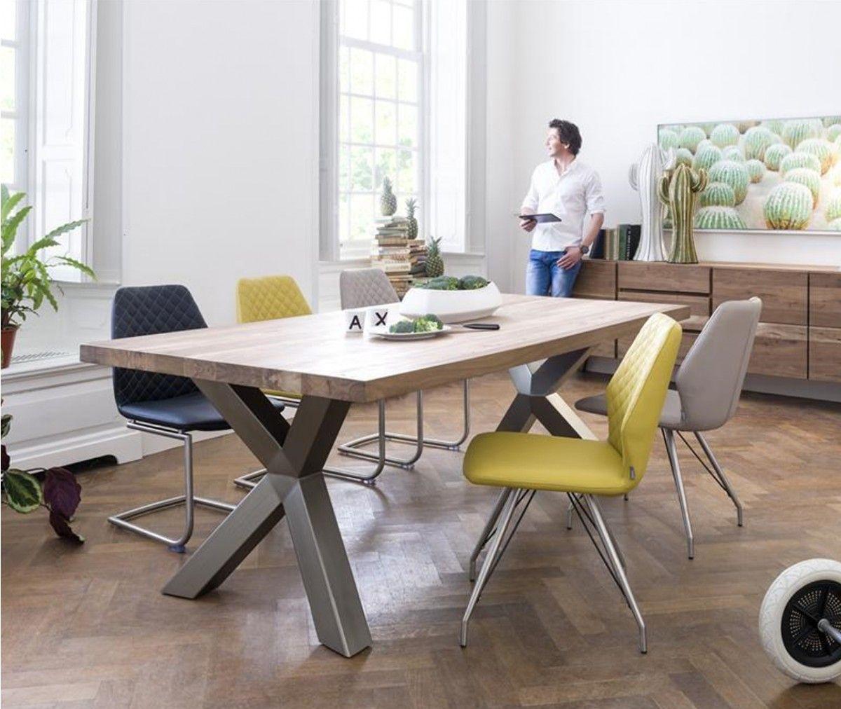 Xooon wohnzimmerserie garda aus massiv kikar holz xooon for Design tisch smooty