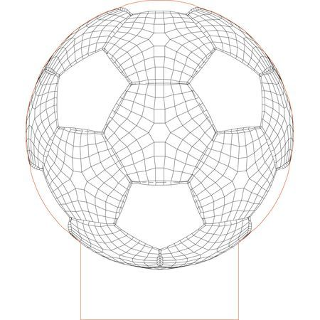 Ball 2 3d Illusion Vector File For Laser And Cnc 3bee Studio 3d Illusion Lamp 3d Illusions Illusions