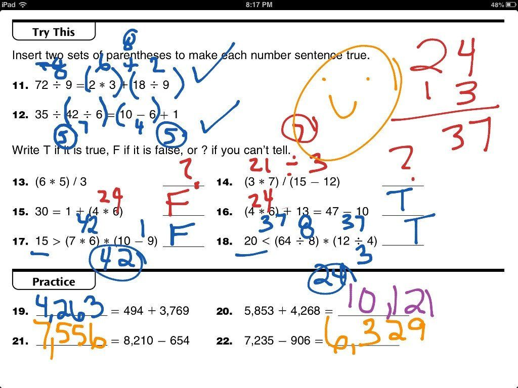 Everyday Mathematics Grade 5 Worksheets Everyday Math 4th