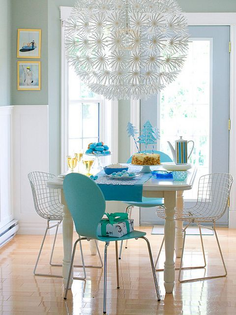 Vores smukke mælkebøtte-lampe ;-)