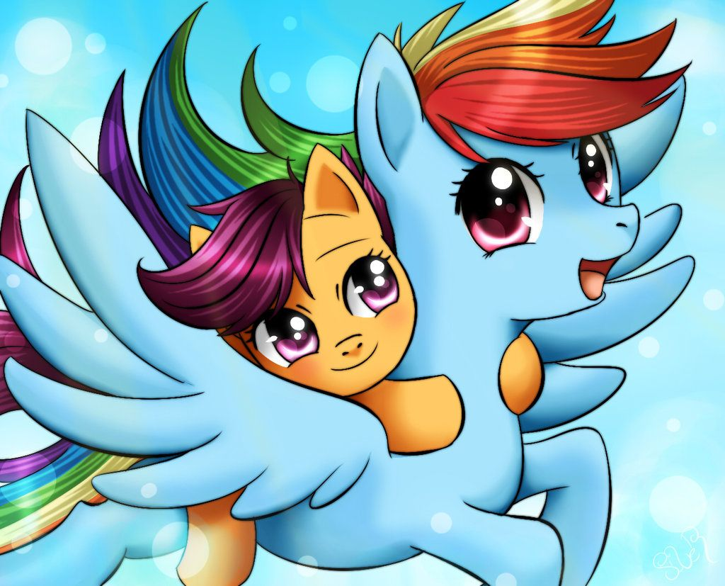 Take these broken wings and learn to fly: S4 Pony