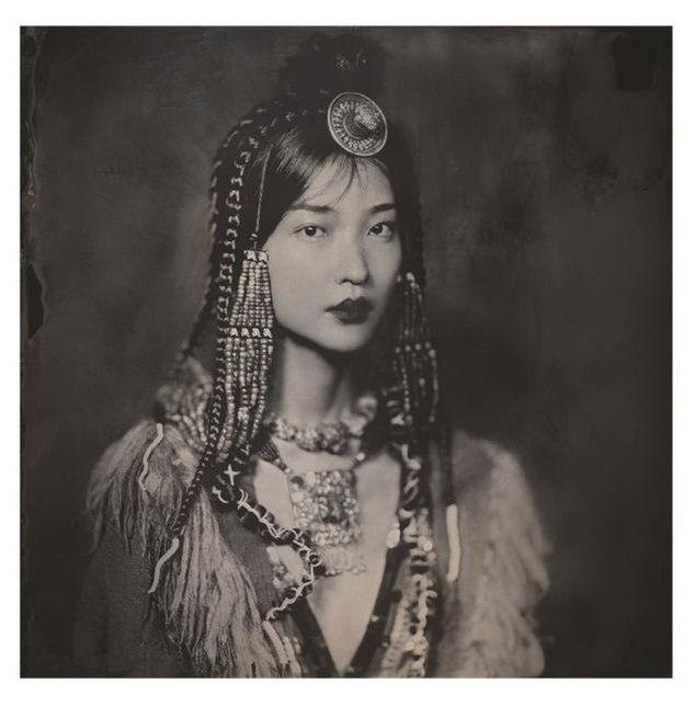 Du Juan Graces 'Whisper of Tibet' Lensed By Yin Ch