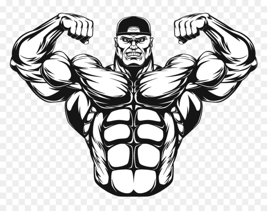 Body Builder Png Bodybuilder Illustration Transparent Png Is Pure And Creative Png Image Uploaded By Designer To Searc Logo Design Art Body Builder Gym Art