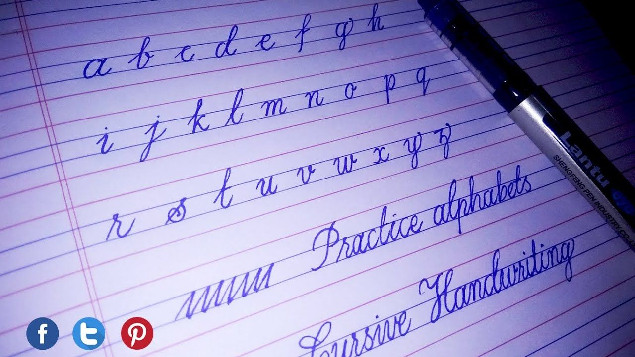 Small Alphabets In Cursive Handwriting Small Alphabets In Four Line No Cursive Alphabet Small Alphabets Cursive Handwriting [ 720 x 1280 Pixel ]