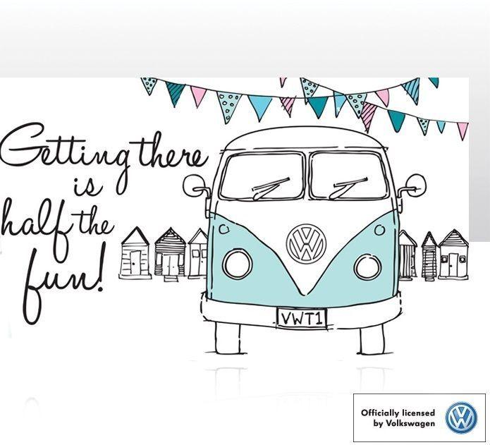 VW Campervan Tea Towel