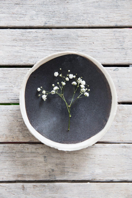 Black Decorative Plates Ceramic Serving Plateblack & White Plateserving Dishescake