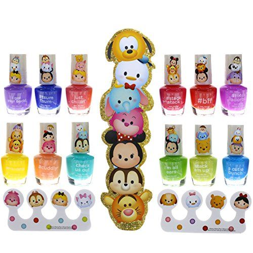 Townley Girl Tsum Tsum Best Shimmery Shiny Nail Polish K