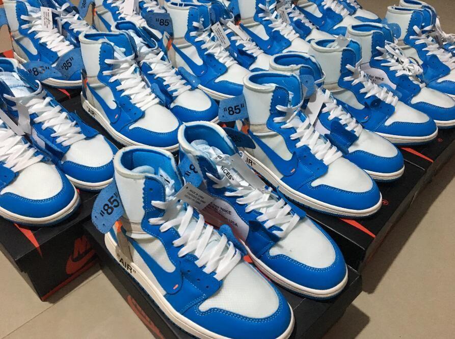 c1f79d15fa5c OFF-WHITE x Air Jordan 1 Powder Blue