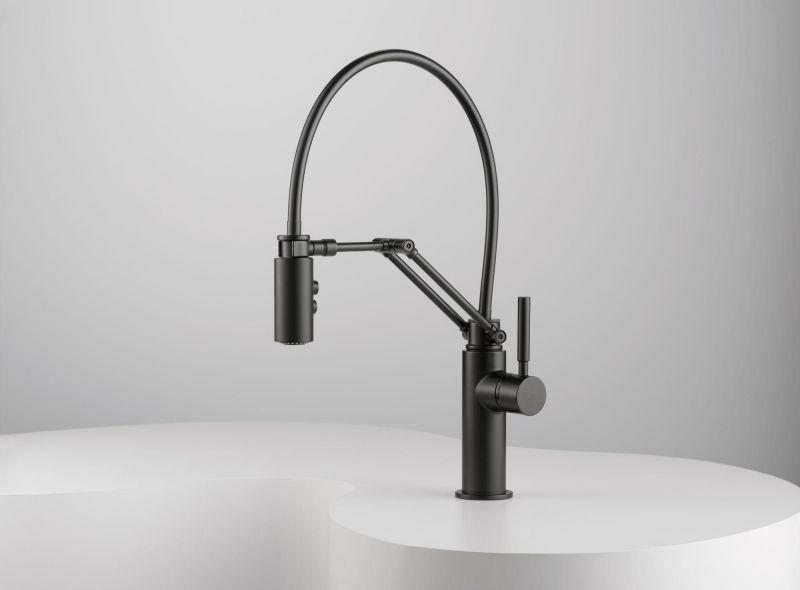 robinet design pour la cuisine et la salle de bains noir et blanc 9 id es sinks and faucets. Black Bedroom Furniture Sets. Home Design Ideas