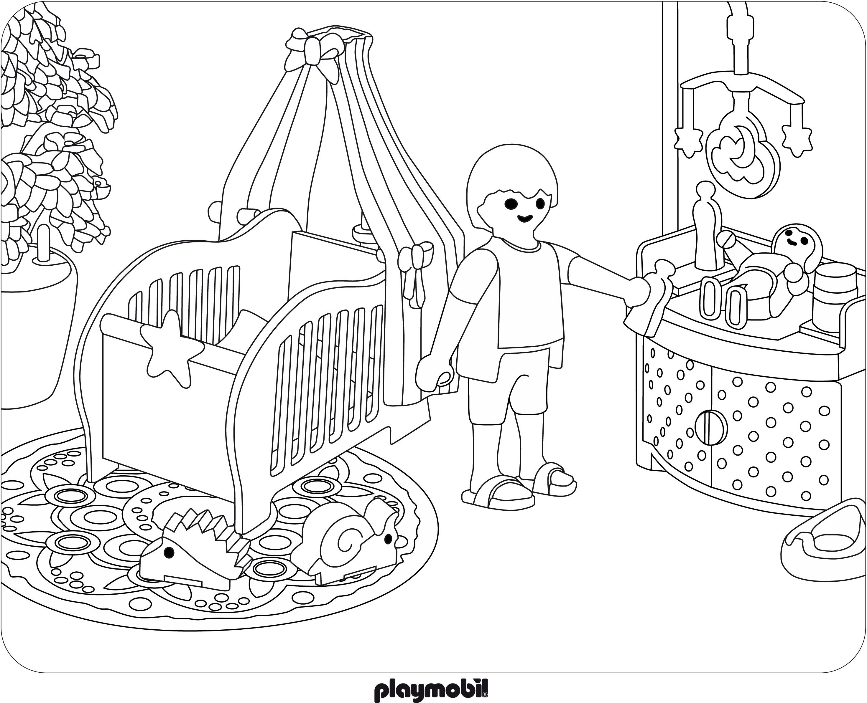 Coloriage Playmobil Agent Secret Coloriage Famille Coloriage Dessin A Colorier