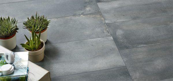 Płytki Imitujące Beton Contract 120x60 Tarasogród Tiles