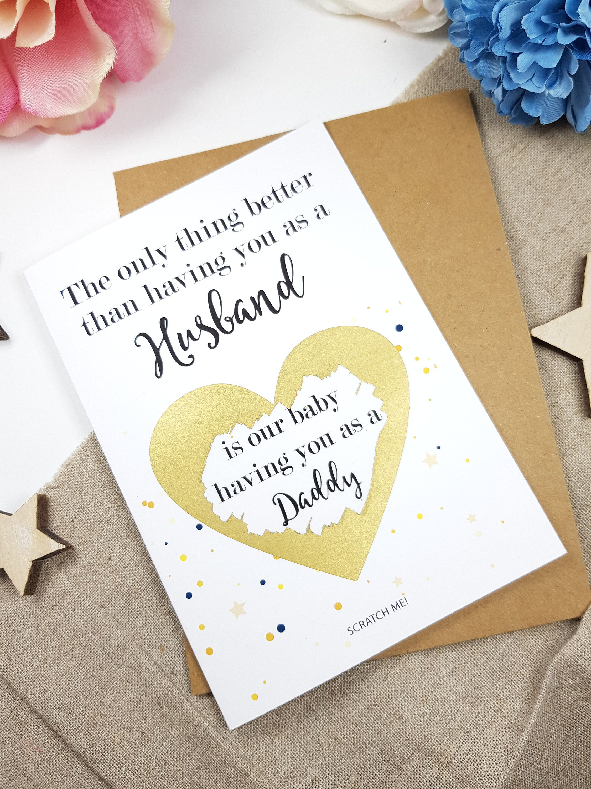 Bun in the Oven A6 Card Funny Pregnancy Baby Card Pregnancy Announcement Cards Funny Pregnancy Card