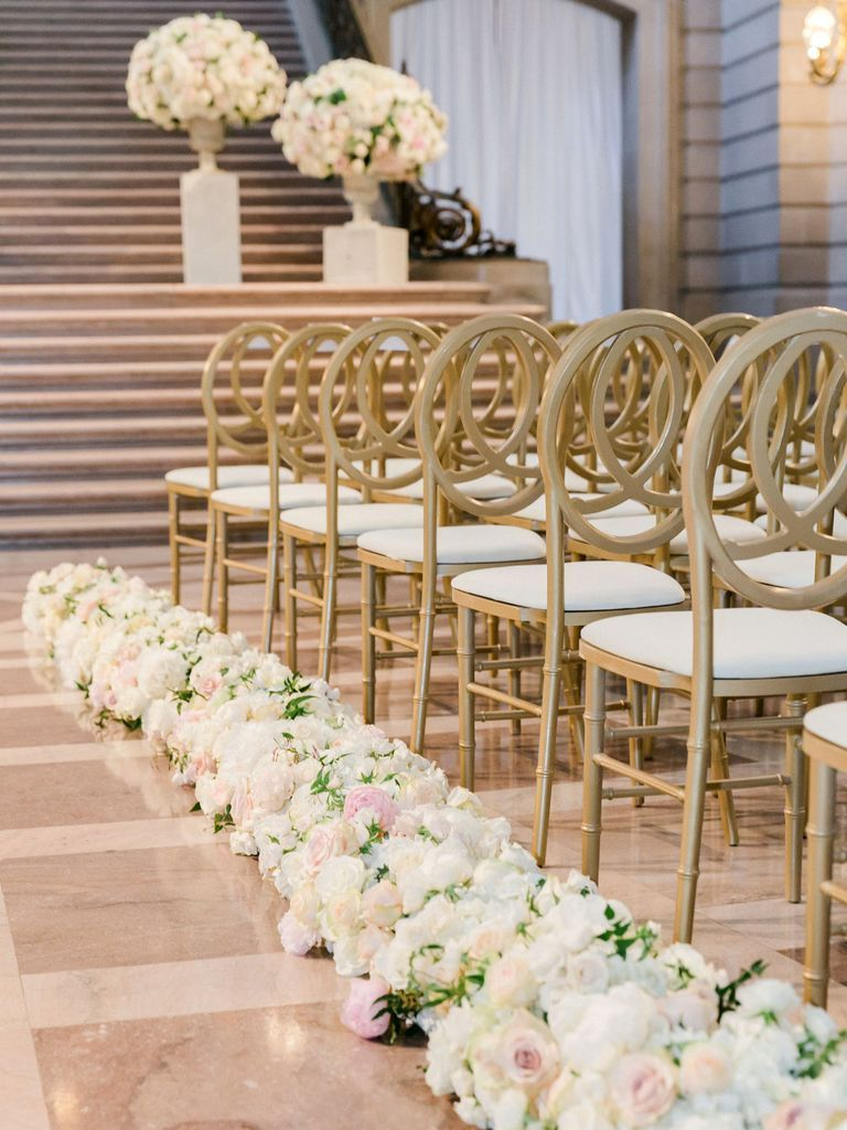 19 Chic And Creative Ways To Decorate Your Wedding Aisle Wedding Aisle Decorations Aisle Decor Aisle Runner Wedding