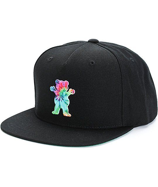 3c3c041fdc63d Grizzly OG Bear Tie Dye Snapback Hat