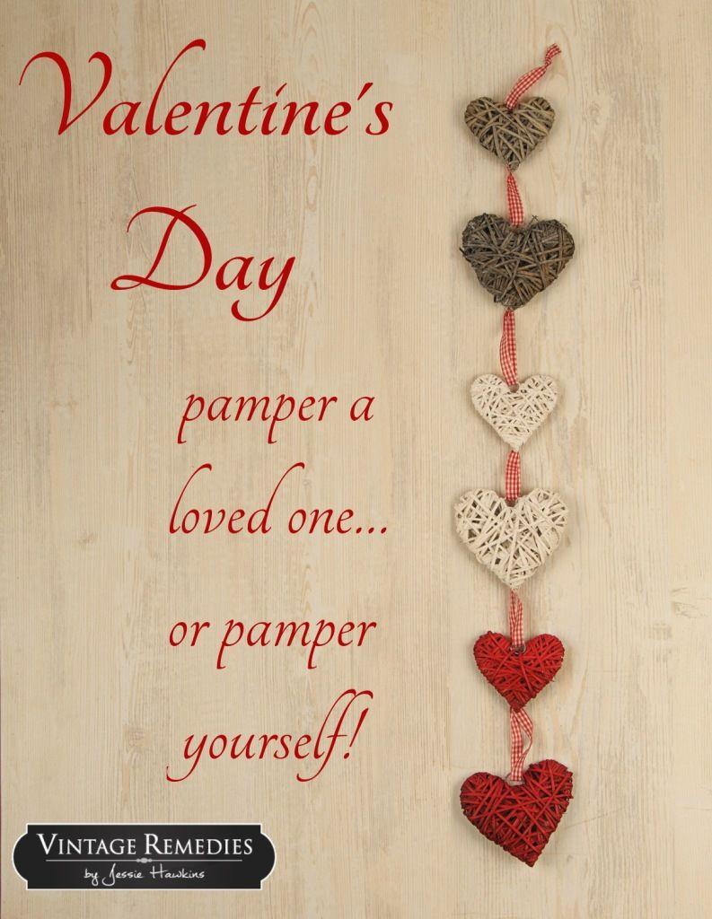 The Vintage Remedies Blogazine Valentine S Day Vintage Remedies Valentine Day Massage Diy Massage Oil