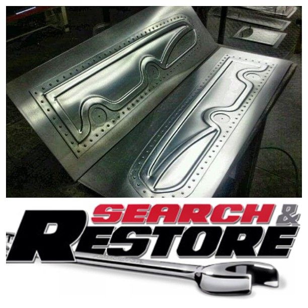 Custom Door Panels I Did For Stg Paul Kahler S 1967 Mustang On Spike Tv Search And Restore Custom Car Interior Sheet Metal Work Metal Fabrication