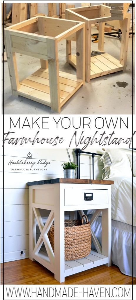 Photo of Farmhouse Nightstand – Home Decoraiton
