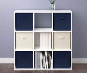 HOT Storage Cubes 9 Cube Storage Organizer Storage Shelves Closet Organizer Cube