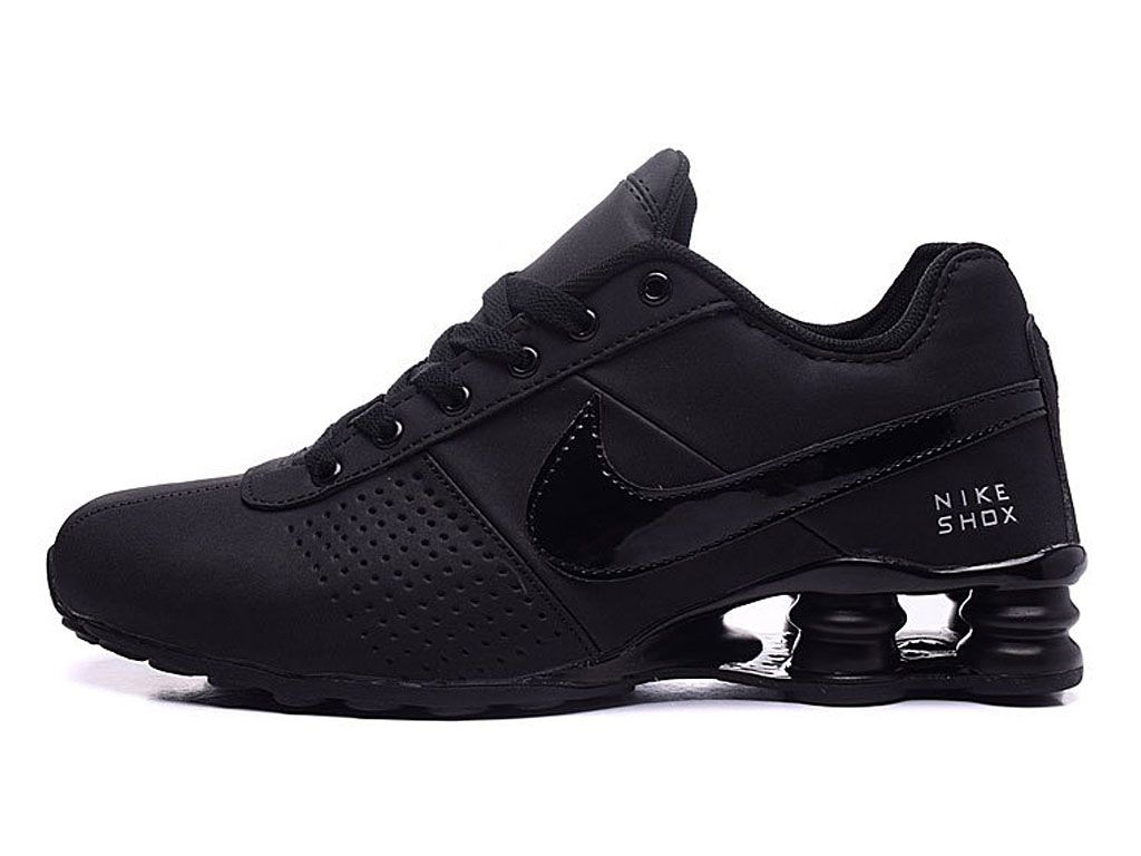 website for discount exquisite style low priced Nike Air Shox Deliver Chaussures de basketball Pas Cher Homme Noir ...