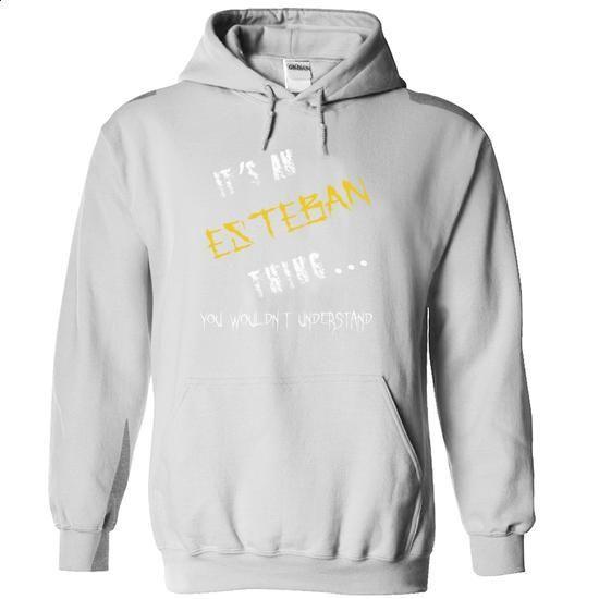 Esteban - #tshirt summer #disney sweatshirt. I WANT THIS => https://www.sunfrog.com/Names/Esteban-8504-White-11713351-Hoodie.html?68278