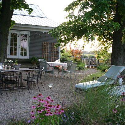 Pea Gravel Landscape Design Design, Pictures, Remodel, Decor And Ideas