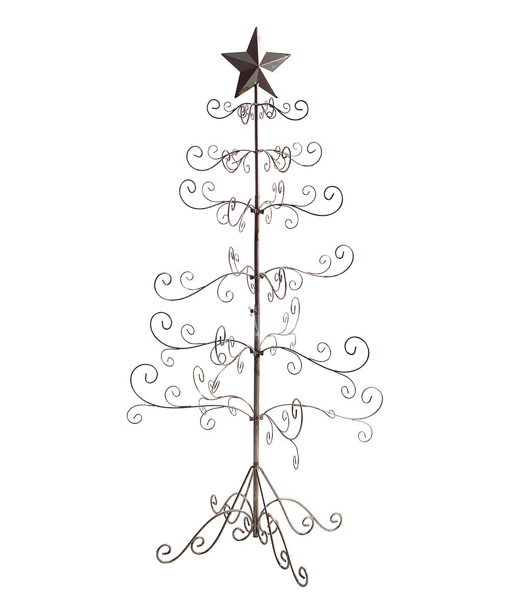 Look at this 49'' Ornamental Wire Christmas Tree on #zulily today!