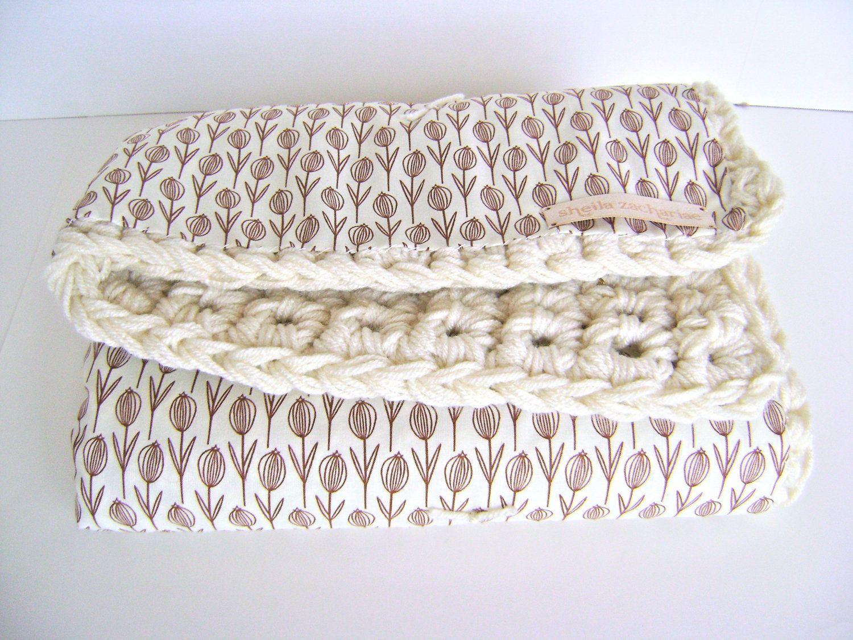 Crochet Reversible Baby Blanket Pattern - Easy Advanced Beginner Pattern. $7.00, via Etsy.