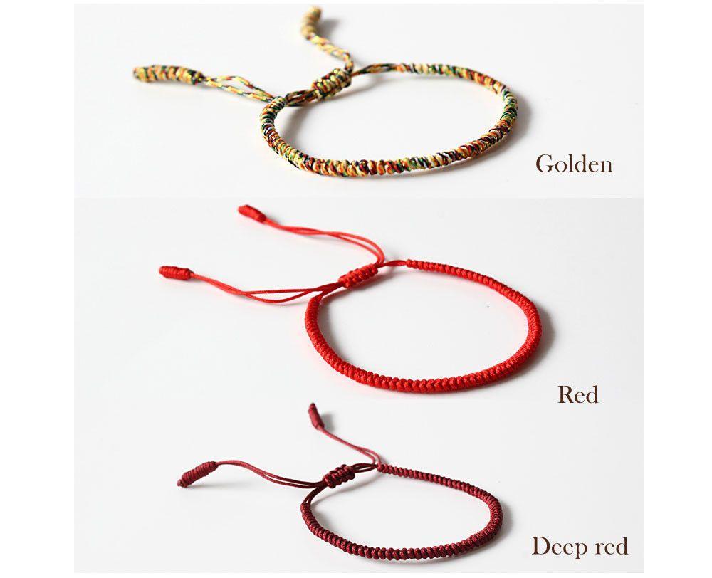 Handmade Lucky Knot Rope Bracelet