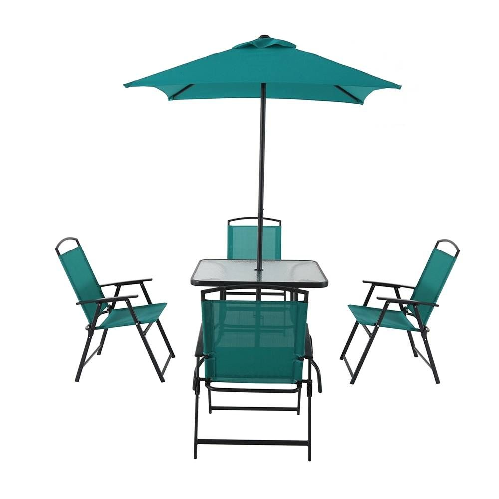 Compra de desayunador plegable mainstays azul al mejor for Outdoor furniture hwy 7
