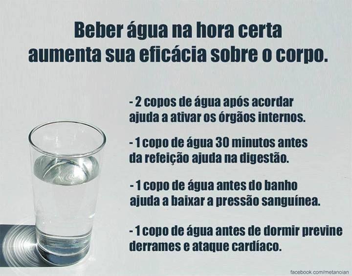 Beneficios De Beber Agua Na Hora Certa Saiba Como Fazer Mais