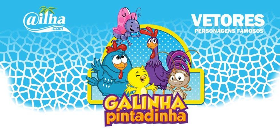 Vetor Galinha Pintadinha Cdr De Alta Resolucao Vetor Galinha