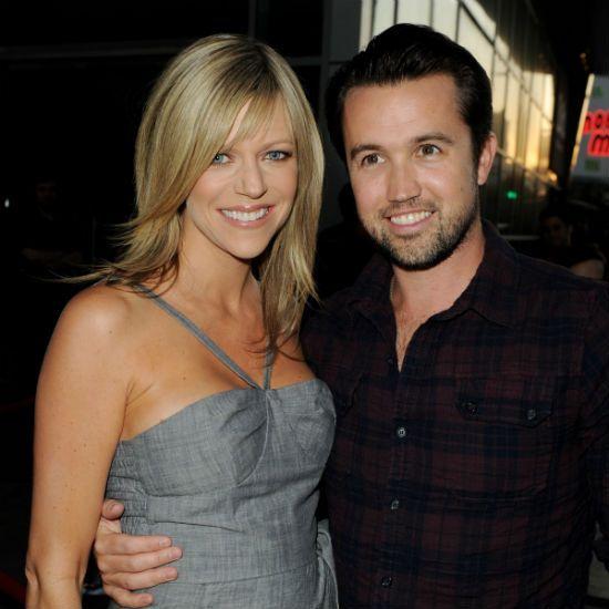 Kaitlin Olson And Rob Mcelhenney Welcome Son Leo Grey It S