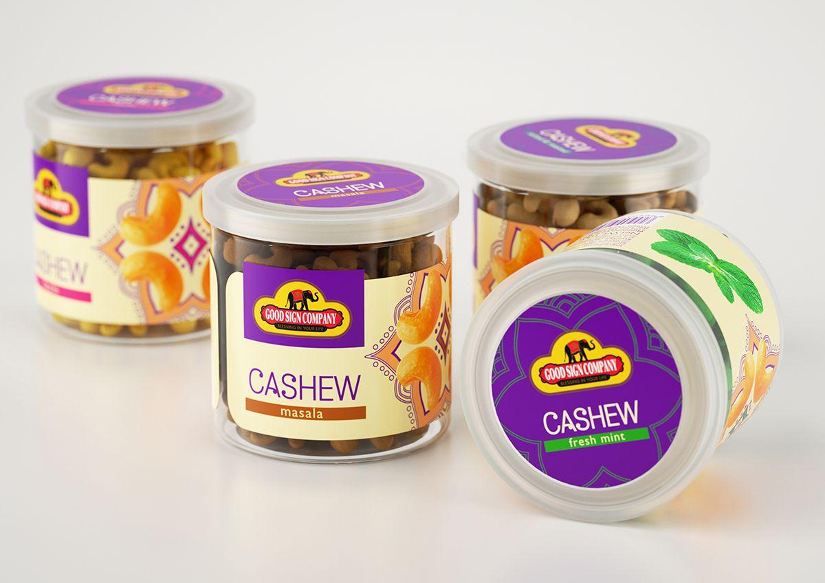 GSC Cashew орехи в глазури от Clёver Branding The Best