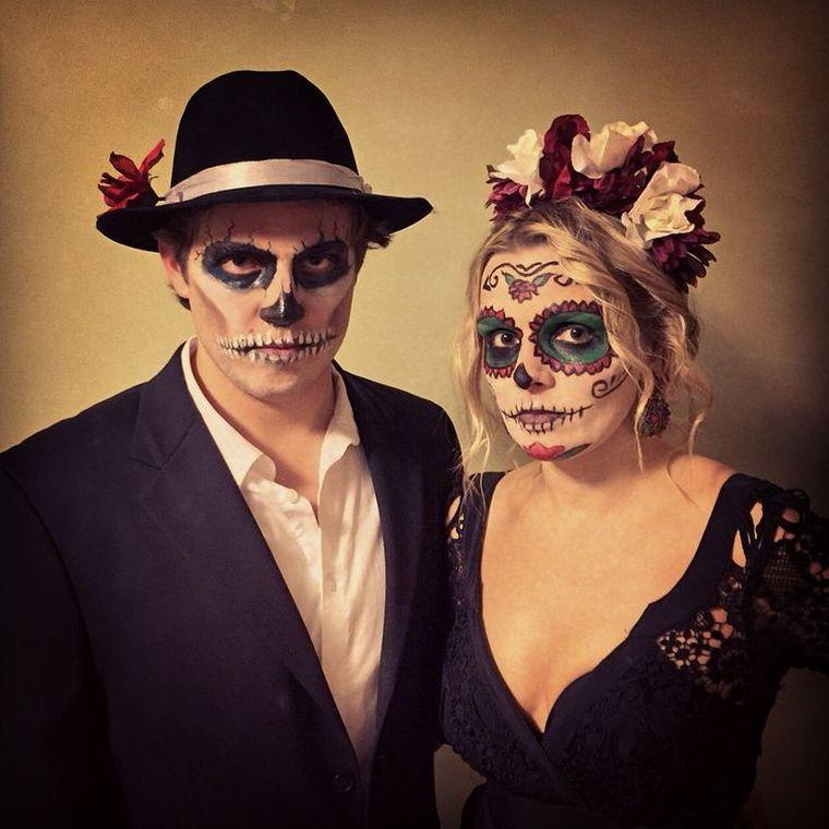 Homme En Idées 10 Et Facile Simples Originales Maquillage Halloween 2YWH9EDI