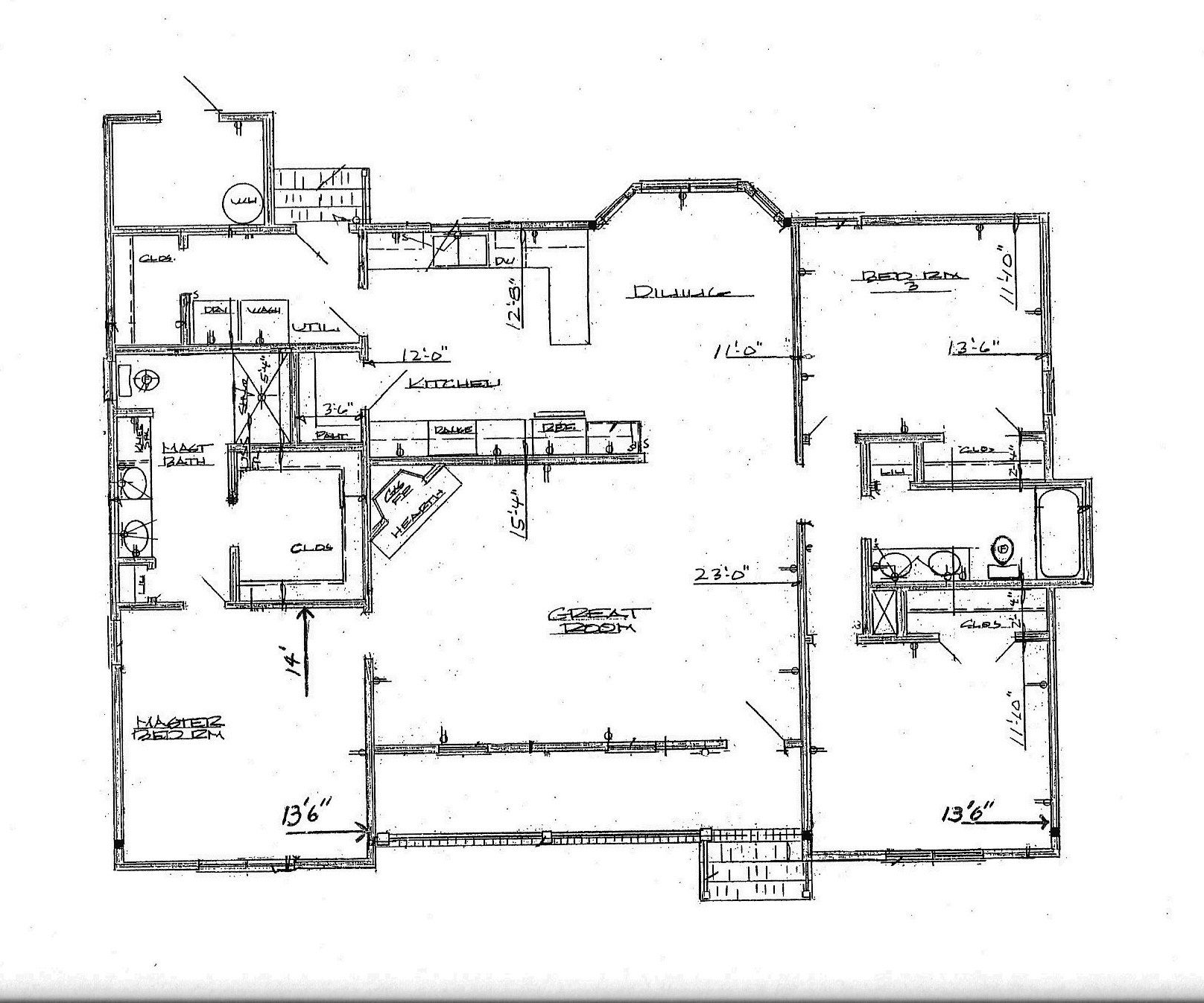 Ranch House Plans Kitchen Lovely Large House Plans Big House Floor Open Ranch Style Floor Plan Ranch Home Floor Plans Ranch Style Floor Plans Floor Plans Ranch