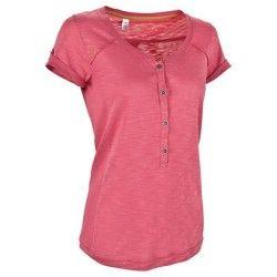 T-Shirt manches courtes randonnée Arpenaz 500 femme rose QUECHUA
