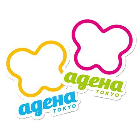 Sticker pop logo ¥210 http store ageha com